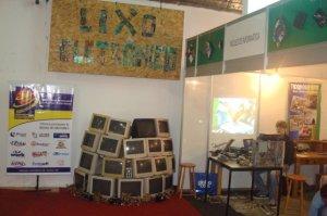 Estande Núcleo de Informática - ExpoRondon 2012